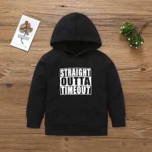 Other - 2 for $20--Kids Letter Print Hoodie